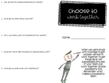 Choose to Critically Think - Back to School / Soft Skills - Iggy Peck Architect