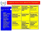Choose your Olympic Adventure