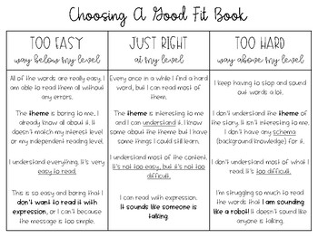Choosing A Good Fit Book