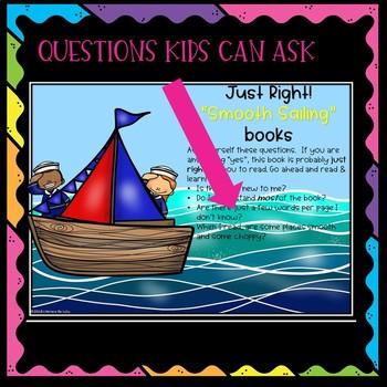Choosing Books! Bulletin Board, Bookmark and Book Log!