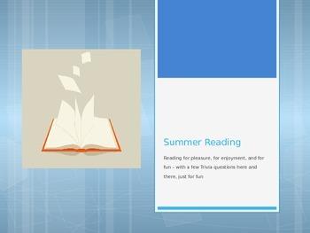 Choosing Books for Summer Reading