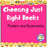 Choosing Just Right Books - Posters and Bookmarks