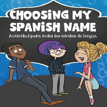 Choosing My Spanish Name