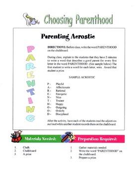 Choosing Parenthood Lesson