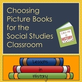 Picture Books - How to Choose the Best for Your Social Stu