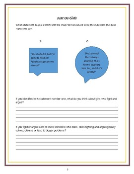 Choosing Sides: An Interactive Character Education Workbook
