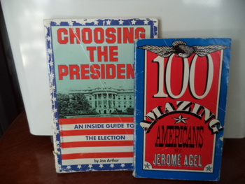 Choosing The President,  100 Amazing Americans  (set of 2)