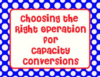 Choosing The Right Operation Sort- Converting Measurement
