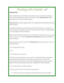 Choosing Time Thinking