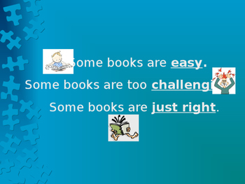 Choosing a Just Right Book
