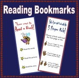 "Choosing a ""Just Right"" Book - Bookmark"