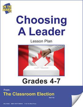 Choosing a Leader - An Election Lesson Plan