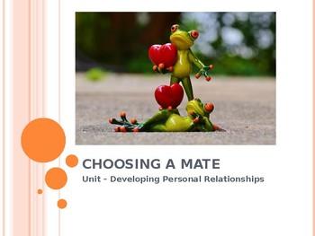 Choosing a Mate ppt
