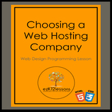 Choosing a Web Hosting Company-HTML and CSS Unit Lesson