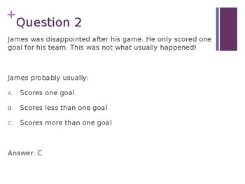 Choosing the Best Answer