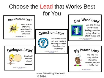 Choosing the Best Lead from The Writing Diner
