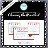Choosing the President Customizable Escape Room / Breakout Game