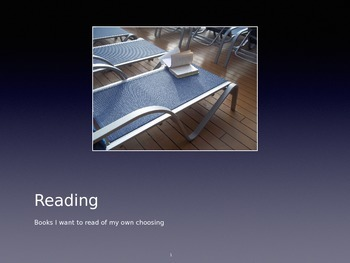 Choosing the Reading Level