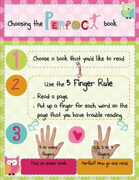 Choosing the Right Book English Poster