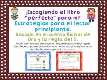 Choosing the Right Book/ Escogiendo el libro perfecto para