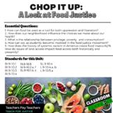 Chop it Up: A Look at Food Justice Unit