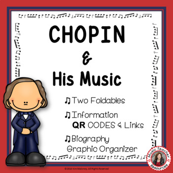 Music Composers: CHOPIN Music Listening Activities