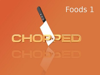 Chopped Activity PowerPoint