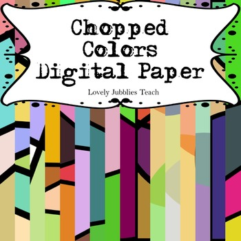 Chopped Colors: Digital Paper