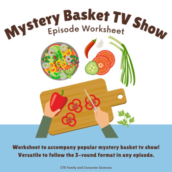 Chopped Episode Worksheet