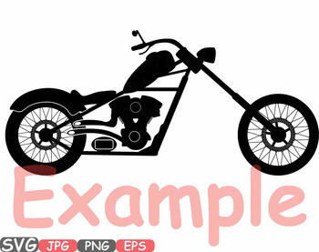Choppers Monogram Motorbike clipart rock Motorcycle bike sign race RIDE 615s