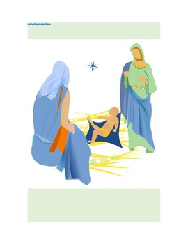 Choral Reading/Literary Play/Reader's Theater--God's Son is Born