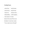 Choral Reading : Test Poem