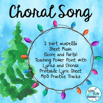 """Choral Song: """"Let's Celebrate in Love and Peace"""""""