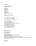 Choral Warm Up Checklist