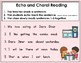 """Choral and Echo Reading Practice with Cloze Sentences SMART Board """"Dan's Diner"""""""