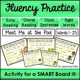 Choral and Echo Reading with Cloze Sentences SMART Board ""