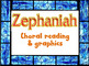 Choral reading and graphics: Zephaniah