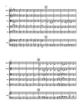 Chorale in C Major for String Orchestra