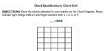 Chord Identification Grid