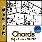 Chord Major & Minor Puzzle BUNDLE