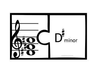Chord Puzzle (minor)