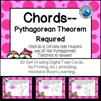 Chord Chord Theorem Teaching Resources Teachers Pay Teachers