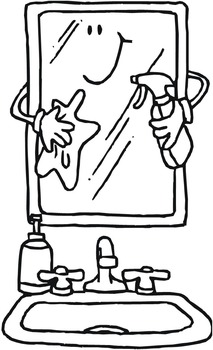 Chore Chart Chores Coloring Pages - 48 Pages!