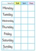 Chore Chart For Home