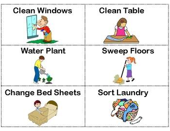 Chore Chart Printable Free