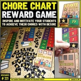 Chore Chart: Reward Incentive for the Classroom and Home