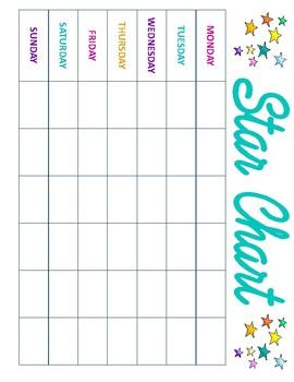 Chore Chart & Star Chart