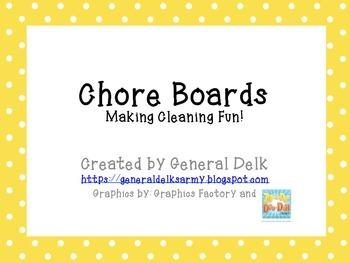 Chore Boards