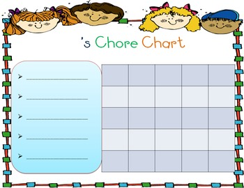 Chore Incentive Charts (FREE)