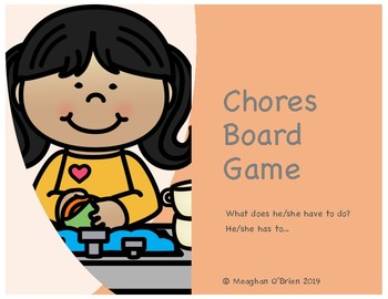 Chores Board Game